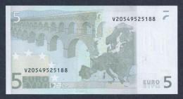 (BE006)  - 5 € - SPAIN V - JC TRICHET - SC/UNC  (M016E1) - EURO