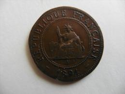 Asie : INDO-CHINE  Française  1 Centime 1894 - Vietnam