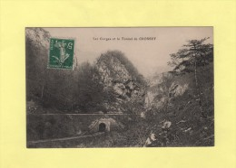 Les Gorges Et Le Tunnel De Crossey - France