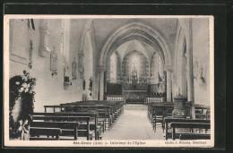 CPA Sainte-Croix, Intérieur De L´église - Non Classificati