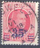 _5B-800: N° 247:  PERUWELZ: Met Papierfout: Accordeon-plooi.... - 1922-1927 Houyoux