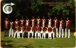 Caribbean - General, GPT, West Indies Cricket Team, 1CCMB000328, 2500ex, 1989, Used - Andere - Amerika