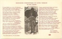 CPA -MONOLOGUES HUMORISTIQUES- LES DEUX CANARDS- N° 5  DE LA SERIE - Basse-Normandie