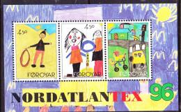 Färöer Faroe Islands Îles Féroé - NORDATLANTEX '96  1996 - Postfrisch MNH - Faroe Islands