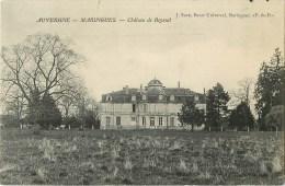 63 -  Maringues - ** Château De Beyssat ** - Cpa En Bon état. - Maringues