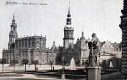Dresden. Kath. Kirche U. Schloss - Dresden