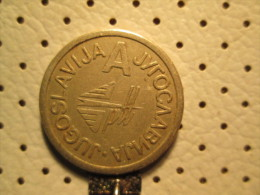 Yugoslavia Telephone Token A PTT  # 1 - Tokens & Medals