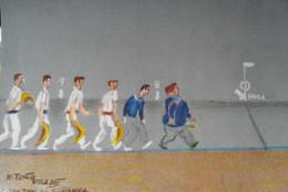 Fronton Guernica Illustrateur K Toño Desfile - Vizcaya (Bilbao)
