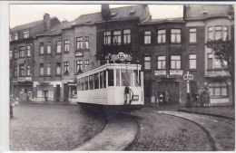 PHOTOS. DE TRAMWAYS. A IDENTIFIER. BELGIQUE. BRUXELLES  LIGNE66   DIM140 X 90 - Trains
