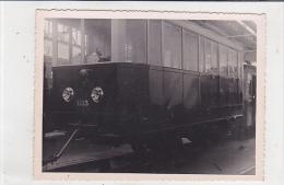 PHOTOS. DE TRAMWAYS.  A IDENTIFIER. COUSSE A VOYAGEURS - Trains
