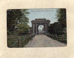 52242    Regno  Unito, Heaton  Park Gates,   Manchester,  VG  1906 - Manchester