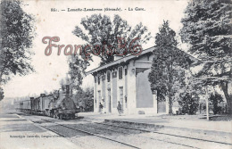 (33) Lamothe Landerron - La Gare - 2 SCANS - Francia