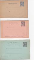 Guyane  Enveloppes Et Entiers Postaux- Carte Lettre 6 Lots - Guyane Française (1886-1949)