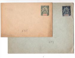 Indochine   Enveloppes 2 Lots - Indochina (1889-1945)