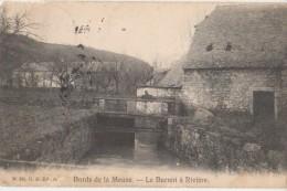CPA BELGIQUE Bors De La Meuse Le Burnot à Rivière 1913 - Profondeville