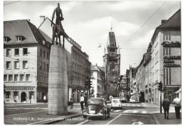 12017 -  Freiburg  Bertoldsbrunnen Und Martinstor (Format 10X15) - Freiburg I. Br.