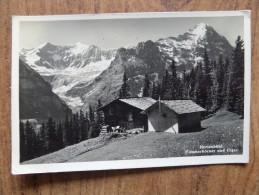 42238 PC: SWITZERLAND: BE-BERNE: Hertenbuhl. Fiescherhorner Und Eiger. - BE Bern
