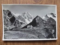 42239 PC: SWITZERLAND: BE-BERNE: Hotel Mannlichen. Eiger, Monch, Jungfrau. - BE Bern