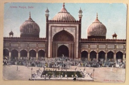 Jumma Musjid, Delhi Non Viaggiata Editor Clifton & Co. Bombay - India
