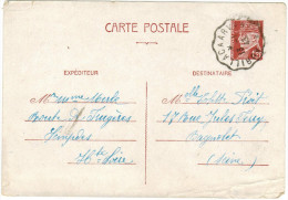 FRANCIA - France - PETAIN - 1943 - 1,20 - Carte Postale - Post Card - Intero Postale - Entier Postal - Postal Station... - Biglietto Postale