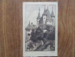 42256 PC: SWITZERLAND: BE-BERNE: THUN. - BE Bern