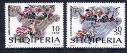 ALBANIA 1997 Postal Service Anniversary Set Of 2   MNH / **.  Michel 2640-41 - Albania