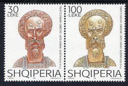 ALBANIA 1998 Niceta Of Remesiana Set Of 2   MNH / **.  Michel 2642-43 - Albania