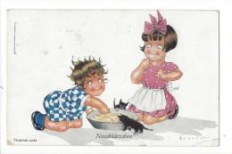 12025 -  Naschkätzchen Thievish Cats - Cartes Humoristiques