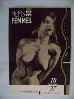 CPM CINEMA - FESTIVAL INTERNATIONAL DE FILMS DES FEMMES -DU 18 AU 27 MARS 1994 A LA MAISON DES ARTS DE CRETEIL - Zonder Classificatie
