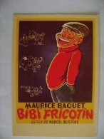 CPM CINEMA - BIBI FRICOTIN AVEC MAURICE BAQUET - Affiches Sur Carte