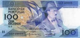 --BANCO DE PORTUGAL --CEM ESCUDOS --,16 DE OUTUBRO DE 1986-NOUVELLES ILS N,ONT PAS CIRCULÉ--NEW THEY NOT CIRCULATED - Portugal
