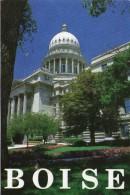 W22 / ETATS UNIS  CP BOISE STATE CAPITOL   VOYAGEE TIMBRE VOIR DOS - Boise