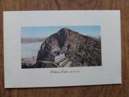 42289 PC: SWITZERLAND: LU-LUCERNE: Pilatus-Kulm 2132 M. - LU Luzern