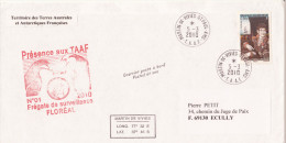 TAAF Frégate De Surveillance Floréal Déploiement Courrier Posté à Bord Martin De Vivies 2010 (voir Photos) - Terres Australes Et Antarctiques Françaises (TAAF)