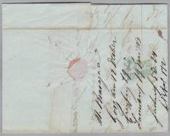 Heimat Slovenien GÖRZ 1843-12-12 Langstempel Brief Nach Linz - Slovénie