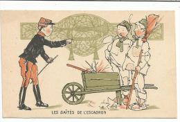 CHROMOS FARINE SALVY - LES GAITES DE L'ESCADRON. - Trade Cards