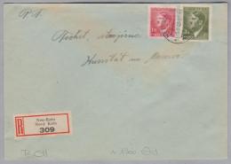 Heimat Tschechien NEU-KNIN 1943-05-05 R-Brief Nach Kunstadt - Bohême & Moravie