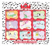 Gambia 1997 Disney's 101 Dalmatians Cartoon Sheet MNH - Gambie (1965-...)