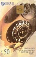 *CINA* -  Scheda A Chip Usata - Telefoni