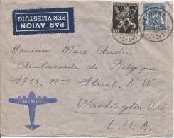TP 689-426 S/L.Avion C.Gedinne En 1946 V.Washington USA AP829 - Marcophilie
