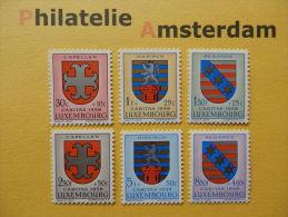 Luxembourg 1958, CARITAS / COAT OF ARMS ARMOIRIES WAPPEN: Mi 595-00, ** - Luxemburg