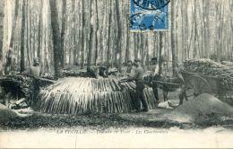 N°4633A -cpa La Feuillie (76) Travaux En Forêt- Les Charbonniers- - Other