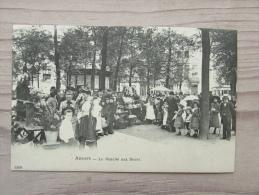 Cp/pk 1907 Antwerpen Anvers Le Marché Aux Fleurs Bloemen Markt - Antwerpen