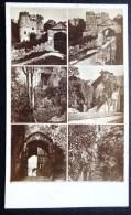FOTOGRAPHY CDV XIXeme : CARISBROOKE CASTLE ISLE OF WIGHT PHOTOGRAPHER ENGLAND MONTAGE PHOTO - Photographs