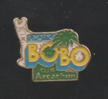 PINS PIN'S ARBRE NATURE VERDURE PALMIER FLEUR BOBO ARCACHON CHIEN - Pin's