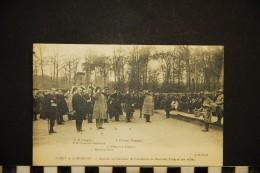 CP, MILITARIA GUERRE 1914-18 FORÊT DE COMPIEGNE Arrivé Au Carrefour De L'Armistice Du Mal FOCH Et Des Alliés Vierge - Guerra 1914-18