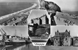 DIEPPE - SEINE-MARITIME (76)  -  CPSM MULTIVUES. - Dieppe