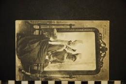CP, FOLKLORE COSTUME Poitevin Mothais N° 48 Voyagé En 1904 - Costumes