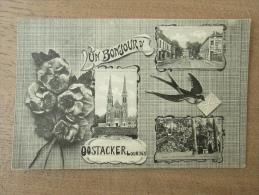 Cp/pk 1931 Un Bonjour D'Oostacker Lourdes Oostakker - Gent