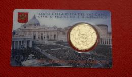 VATICANO 2015 - LA COINCARD N. 6 - POPE FRANCESCO - Vatican